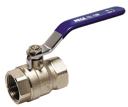 "½""  ball valve  - brass"