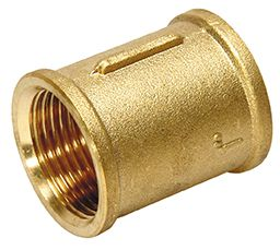 "1"" x 1"" socket - brass"