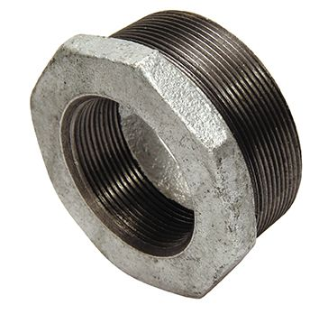 "2½"" x 2"" bush - galvanised iron"